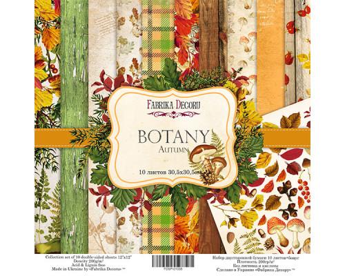 """Набор скрапбумаги """"Botany autumn"""", 30.5 Х 30.5 см"""