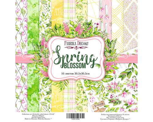 """Набор бумаги """"Spring Blossom"""", 30*30см, 10 листов"""