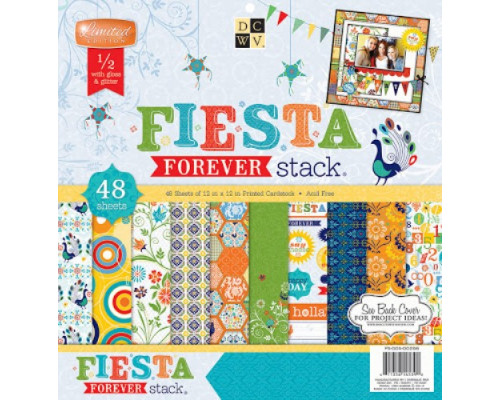 Набор бумаги 30*30 см Fiesta Forever