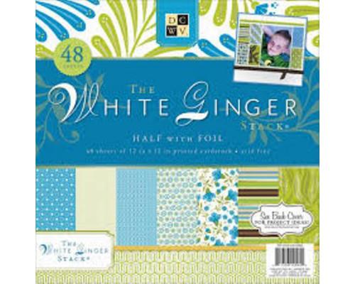 Набор бумаги 30*30 см White Ginger