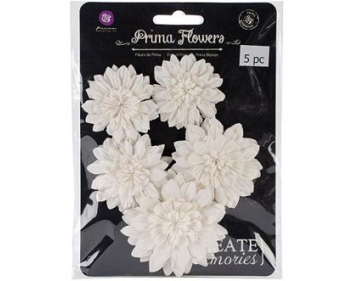 Набор декоративных тканевых цветов Nieve, 5 шт. (Prima Marketing)