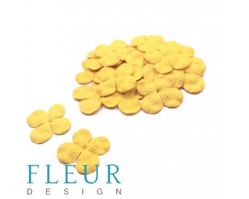 Гортензия мини Желтая, размер цветка 3 см, 10 шт/упаковка FD3069401
