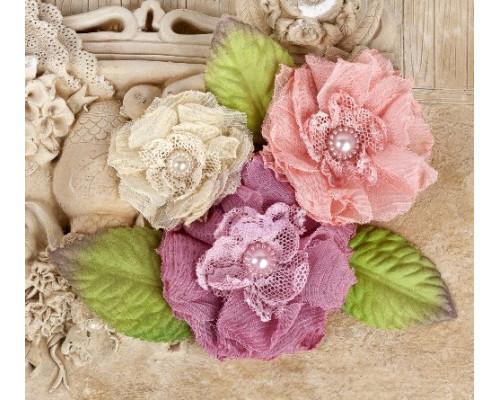 """Цветы и листья """"Рассвет"""" Paquita, 6 шт, 566418 (Prima Marketing)"""