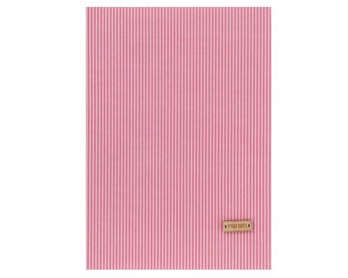 Ткань на клеевой основе «Розовые полоски», 21 х 30 см