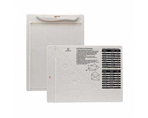Доска для создания конвертов и открыток, 21,5х16,2х0,7 см