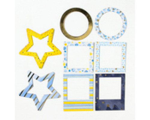 Набор декоративных рамочек с тиснением «Сказки перед сном» , 12,5 х 15 см