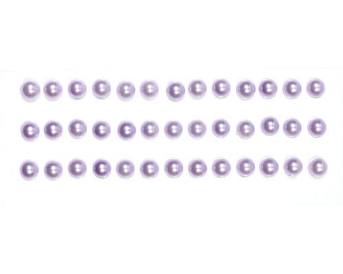 Полужемчужинки клеевые сиреневые SCB25021022