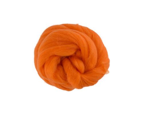 """Шерсть для валяния """"Gamma"""" TFS-050, цвет 0491 оранжевый"""