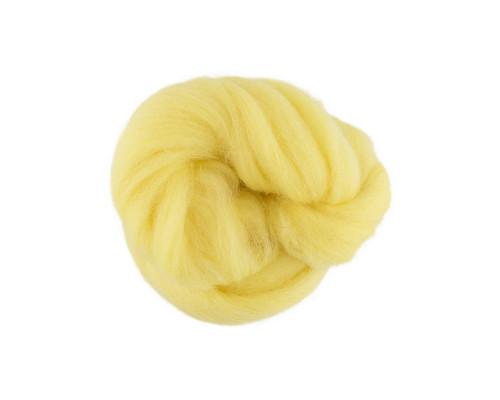 """Шерсть для валяния """"Gamma"""" TFS-050, цвет 1340 лимон"""