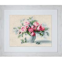"""Набор для вышивки """"Этюд с чайными розами"""""""
