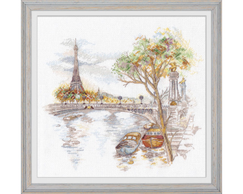 """Набор для вышивки крестом """"Осень в Париже"""""""