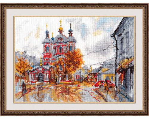 """Набор для вышивки крестом """"Храм Святого Климента"""""""
