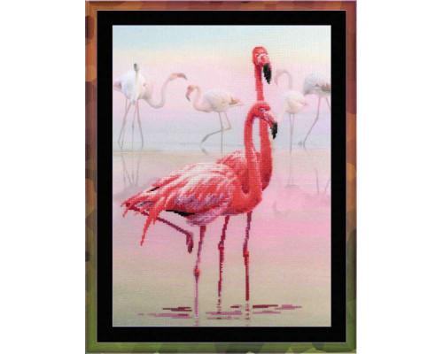 Набор для вышивания крестом «Фламинго»