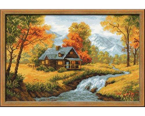 Набор для вышивания крестом «Осенний пейзаж»