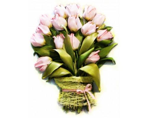 "Набор для вышивки лентами ""Тюльпаны"", VL003"